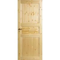 Дверь сосновая  Jeld-Wen Tradition N51, прозрачный лак